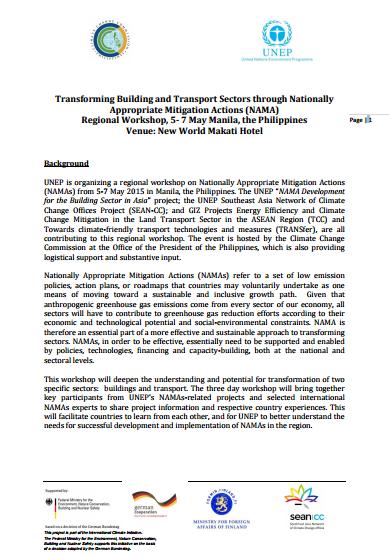 transforming-building-and-transport-sectors-through-namas-may-2015-agenda